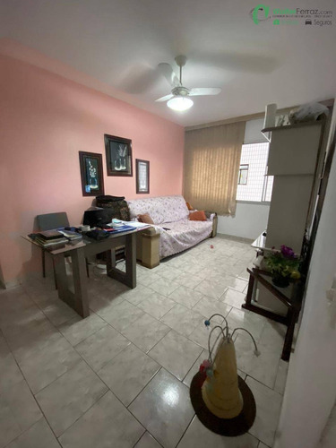 Imagem 1 de 15 de Amplo Apartamento 2 Dormitórios, De Frente, No Marapé, Em Santos - 2696