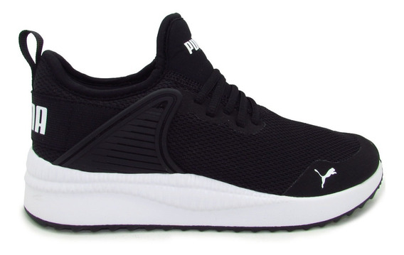 Tenis Puma Pacer Next Cage Core 369982 01 Black-white Softfo