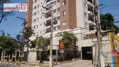 Apartamento Com 2 Dormitórios À Venda, 56 M² Por R$ 375.000,00 - Mandaqui (zona Norte) - São Paulo/sp - Ap2130
