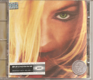 Madonna - Cd Original - Un Tesoro Musical