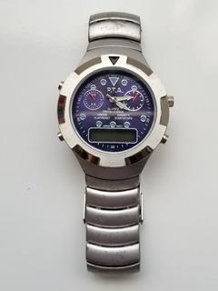 Reloj Generico Dual. Analogico Y Digital. Hombre.