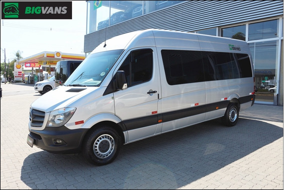 Sprinter 2018 415 Bigvan Executiva 19l Prata (9939)