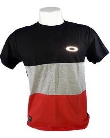 Kit 2camisa Oakley Camiseta Oakley Refletivabrilha No Escuro