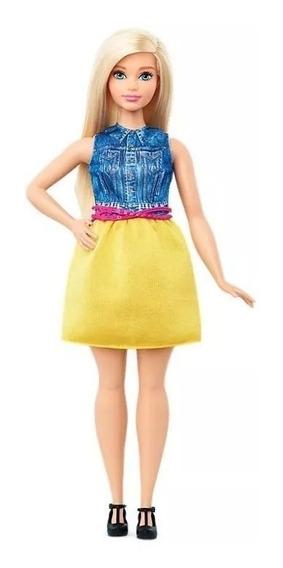 Barbie Fabulous Fashionistas 22 Chambray Chic Dmf24 Mattel D