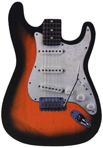 Alfombrilla De Ratón En Forma De Guitarra Harris (mpad-st)