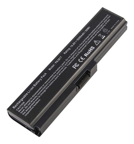 Bateria Toshiba C640 C645d C650 C655 P740 P745 L600 Pa3817u