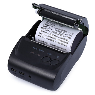 Impresora Térmico Recibo De Zj 5802ld Mini Bluetooth 58m 580