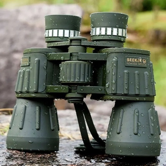 Binoculo Militar Profissional Seeker 10x50 Bak-4