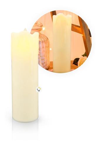 Lámpara Decorativa Vela Led Portátil Navidad Fiesta Mj-021