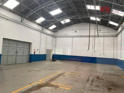 Galpão Para Alugar, R$ 11.600/mês - Paulicéia - São Bernardo Do Campo/sp - Ga0083