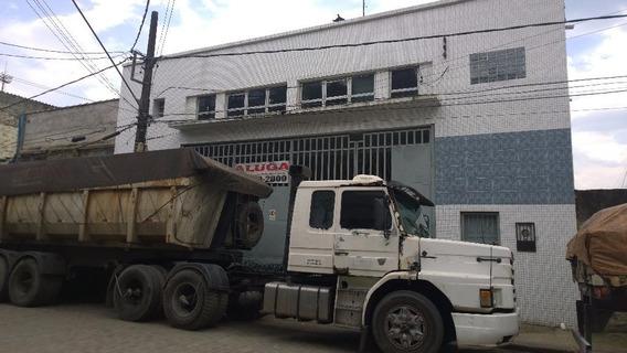 Galpão Em Valongo, Santos/sp De 700m² Para Locação R$ 12.000,00/mes - Ga150586
