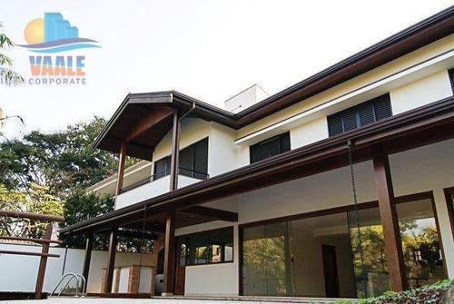 Imagem 1 de 26 de Casa Com 4 Dormitórios, 576 M² - Venda Por R$ 2.900.000 Ou Aluguel Por R$ 11.000/mês - Cidade Universitária - Campinas/sp - Ca0187