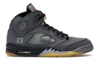 Tenis Nike Jordan 5 Retro Sp Off-white Ct8480-001