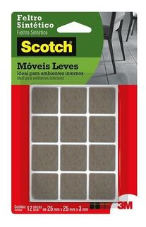 Feltro Scotch 3m Marrom Quadrado P Hb004262661 26032