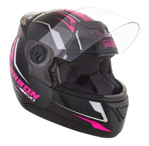 Capacete Feminino G5 788 Evolution For Girls Rosa 56 58 60