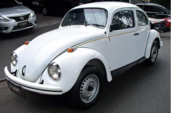 Volkswagen Fusca 1600 Gasolina 1995 Branco