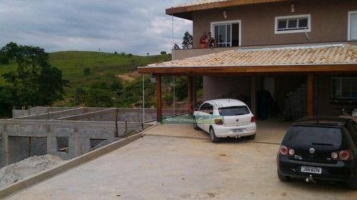 Imagem 1 de 9 de Chácara Com 4 Dormitórios À Venda, 1752 M² Por R$ 371.000 - Marambaia - Caçapava/sp - Ch0244