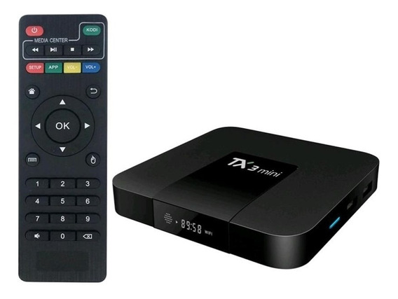 Tv Box Tx3 Mini 1gb 16gb Smart Tv Android 7.1 Control