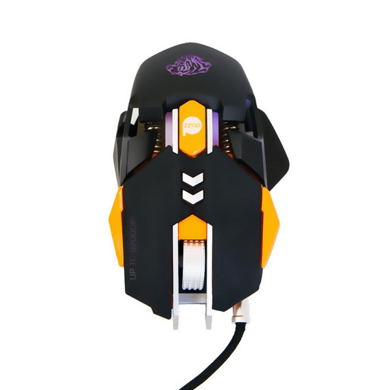 Mouse Gamer Dazz Thundertank 6200dpi Led
