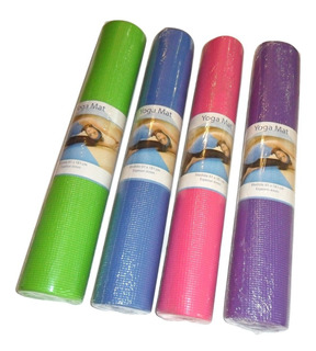 Tapete Yoga Pilates Ejercicio Mat 181x61cm Envio Gratis