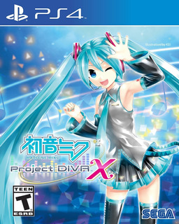 Hatsune Miku Project Diva X Ps4 Digital Gcp
