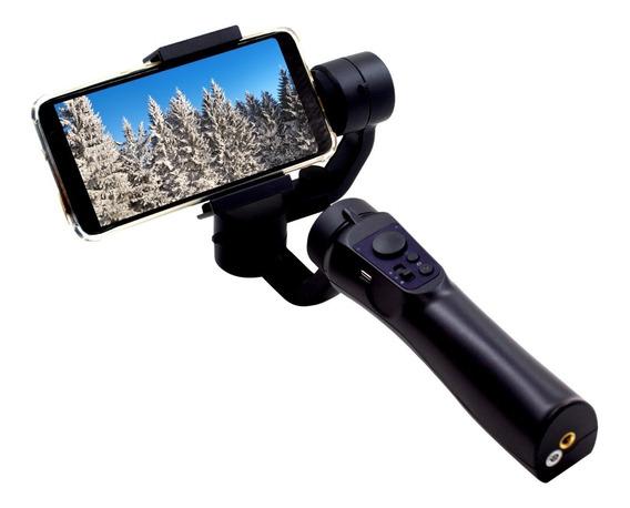 Estabilizador Bluetooth De Imagem 3 Eixos P/ Celular E Gopro