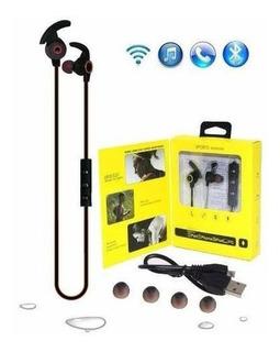 Fone De Ouvido Sports Bluetooth Qualidade Amw-810 Estéreo