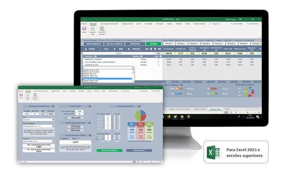 Planilha Excel Para Avaliação E Planejamento Nutricional