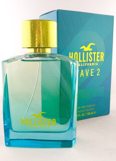 Perfume Hollister Wave 2 Edt Masculino + Brinde Amostra