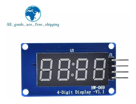 Display 4 Digito Tm 1637