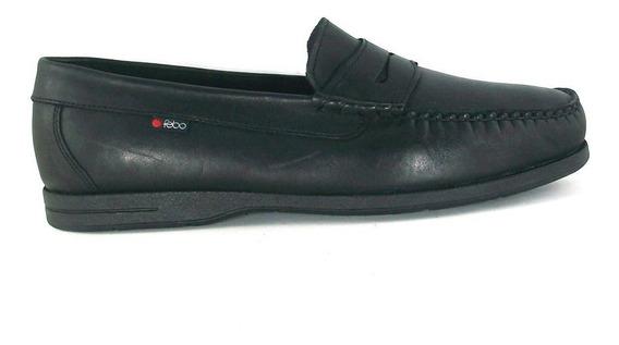 Zapato Mocasín Suela De Goma Con Vincha