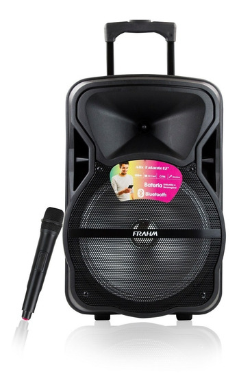 Caixa Som Amplificada Portátil Cm600 Bt Usb Fm 600w - Frahm