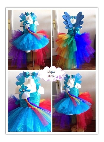 Vestido Tutu My Little Pony.