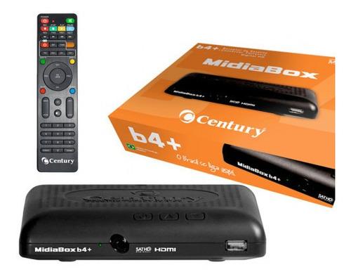 Imagem 1 de 6 de Receptor De Tv Digital Parabólica Midia Box Hd B4+ Original