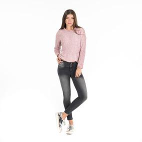 Sweater Cuello Redondo Qd26a055 Quarry