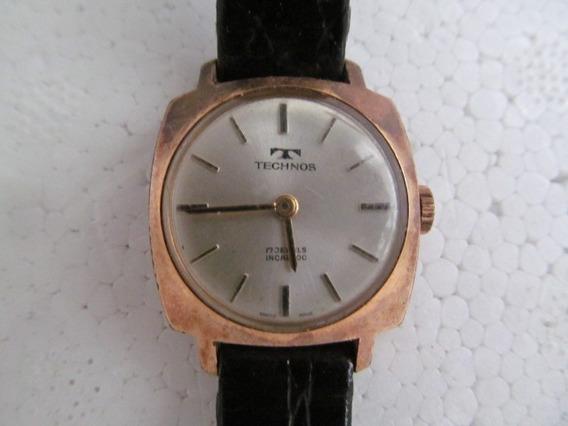 Antigo Relógio Feminino Technos Caixa 22mm