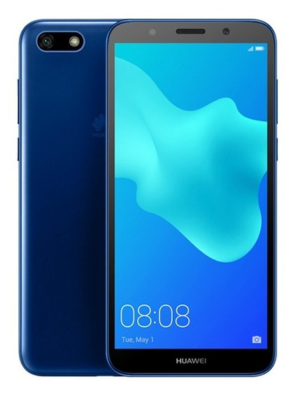 Celular Libre Huawei Y5 1gb 8mp/5mp Blue Ds 2018 4g