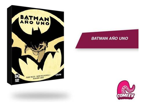 Imagen 1 de 2 de Comic Batman Año Uno Español Latino