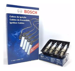 Cables Y Bujías Fiat Palio Siena 1.3 1.4 Fire Bosch