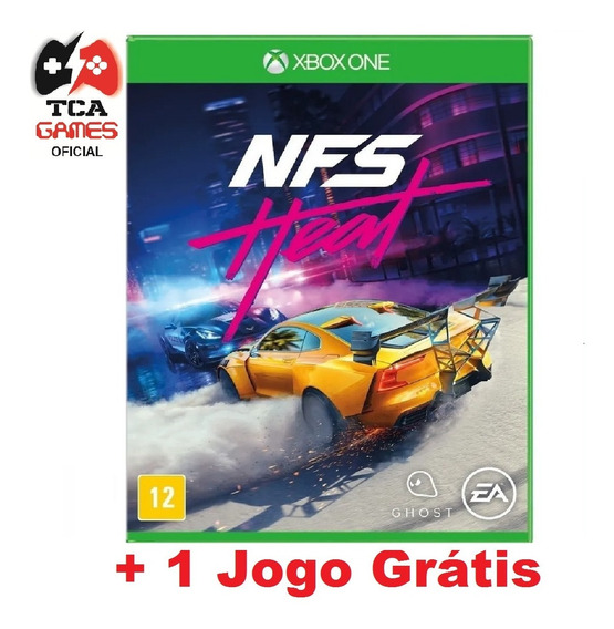 Need For Speed Heat Deluxe Xbox One Mídia Digital + Brinde
