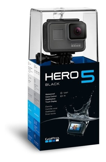 Gopro Hero 5 Black - Lançamento 2016
