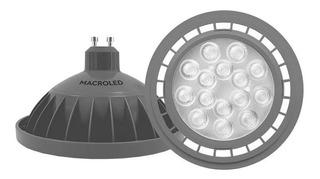 Pack X5 Lampara Led Ar111 Gu10 11w 220v Calida Macroled