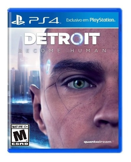 Detroit Become Human Mídia Fisica - Ps4 (carta Registrada)