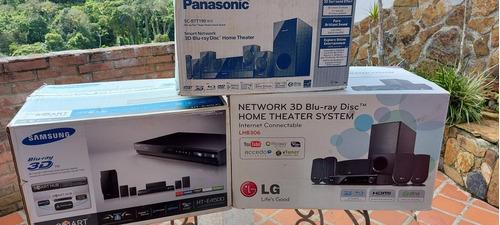 Imagen 1 de 2 de Kit Home Theater  Panasonic Samsung LG Bluray 1000 Wat Nuevo