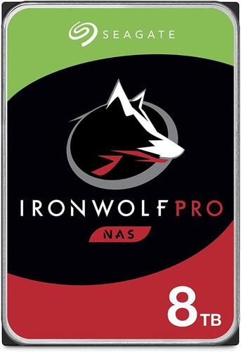 Seagate Ironwolf Pro Nas 8tb Disco Hdd Sata 6 Gb/s 3.5 In
