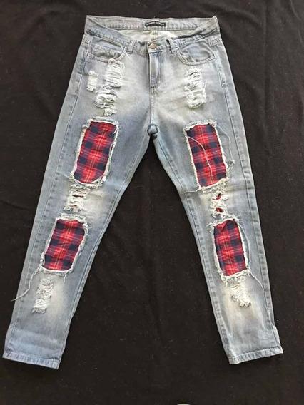 Jeans Rotos Mujer Pantalones Jeans Y Joggings Para Mujer Algodon En Mercado Libre Argentina