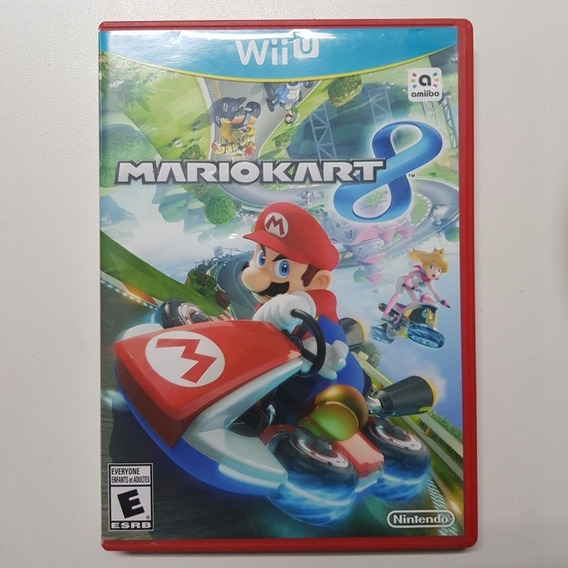 Mario Kart 8 Wii U Mídia Física Usado