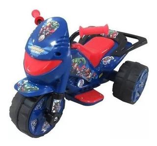 Moto Infantil A Bateria Modelo Avenger / Vengadores / Nueva