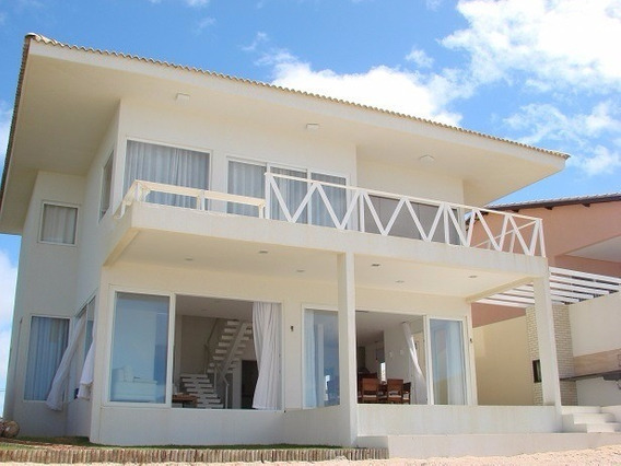 Casa De Praia 4/4 (2s) Em Barra Do Jacuípe - Camaçari/ba. - J116 - 3392802