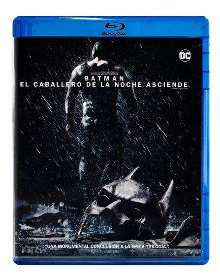 Batman Caballero Noche Asciende Dark Knight Pelicula Blu-ray